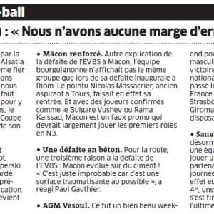 Fréquence volley 14 octobre
