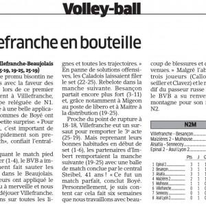 Villefranche – BVB