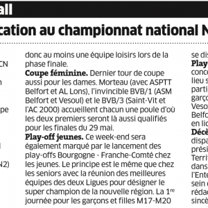 Fréquence Volley