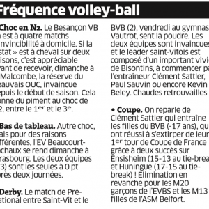 15.10.16 Fréquence Volley