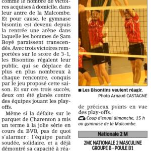 05.11.16 Avant BVB – Vincennes