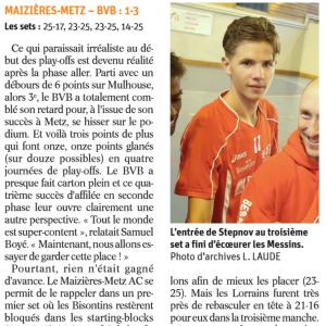 27.03.17 Maizières les Metz 1-3 BVB