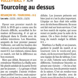 15.01.18 BVB 0-3 Tourcoing