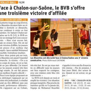 18.03.19 BVB 3-2 Chalon sur Saône