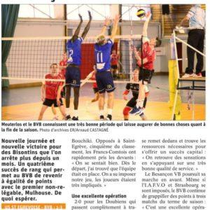 25.03.19 Saint Égrève 1-3 BVB