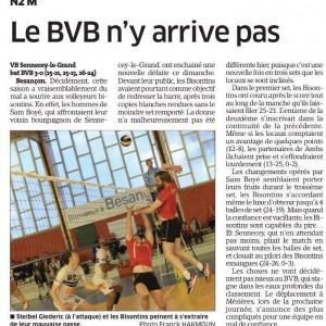 BVB – Sennecey