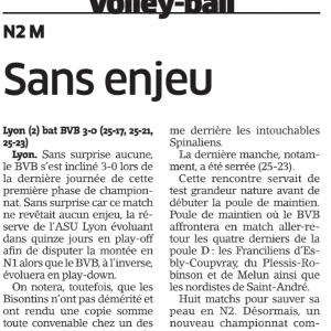 ASUL Lyon Volley – BVB