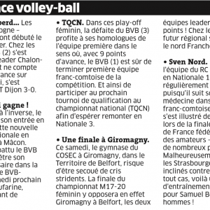 06.04.16 Fréquence Volley