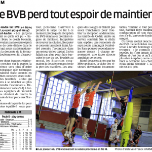 Saint André 3-0 BVB