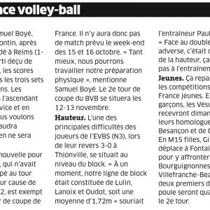 05.10.16. Fréquence Volley