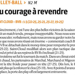 28.11.16 Saint Cloud – BVB