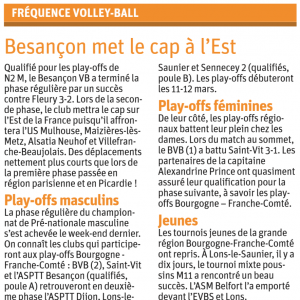 15.02.17 Fréquence volley
