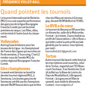 24.05.17 Fréquence Volley