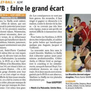 21.10.17 Avant BVB – Saint André