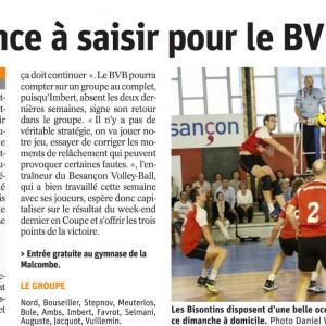 19.11.17 Avant BVB – Saint Dié