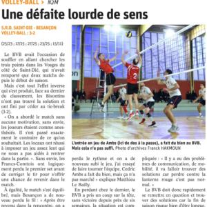 19.03.18 Saint Dié 3-2 BVB