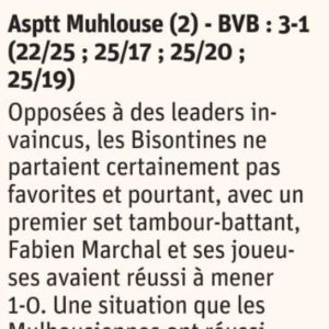 16.04.18 ASPTT Mulhouse 3-1 BVB