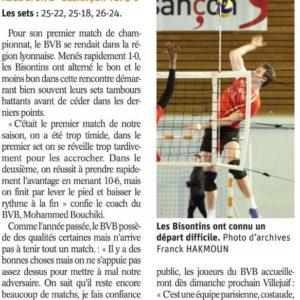 24.09.18 ASUL Lyon Volley 3-0 BVB