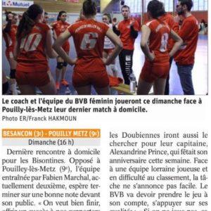 06.04.19 Avant BVB – Pouilly Metz